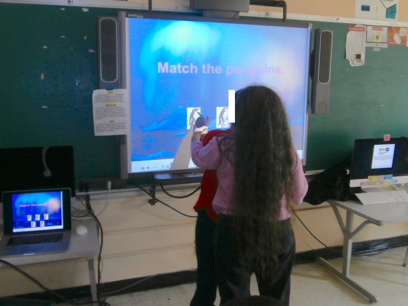Assisting Student A with an Interactive Whiteboard Activity Created by Jeanne Stork