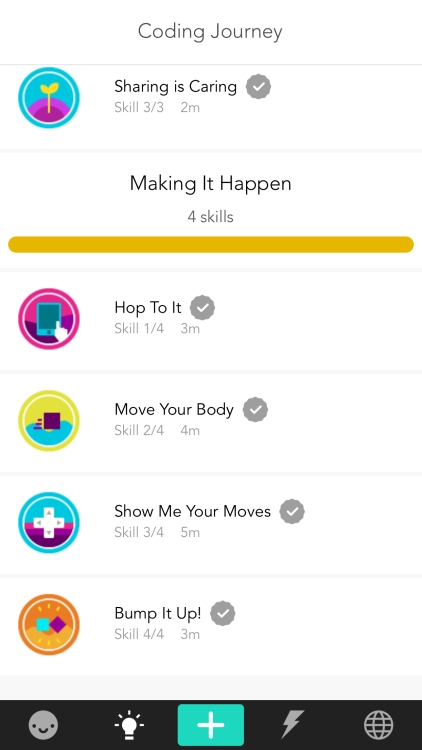 additional activity titles are hop to it, move your body, show me your moves, and bump it up